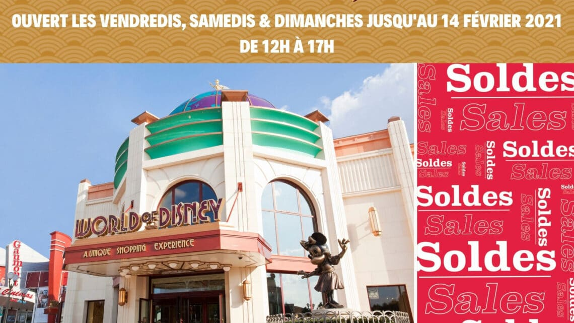 REOUVERTURE WORLD OF DISNEY LE 13-14 MARS 2021
