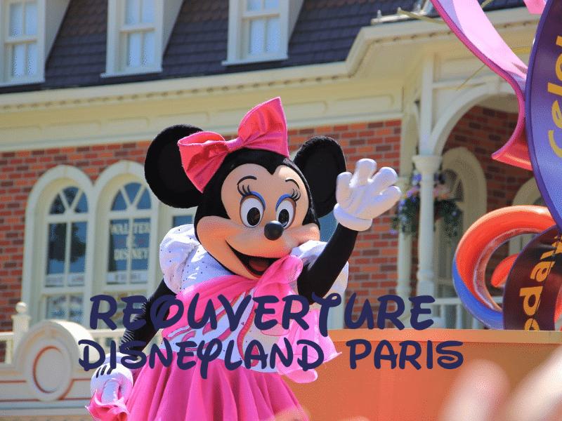 Réouverture de Disneyland Paris 2021